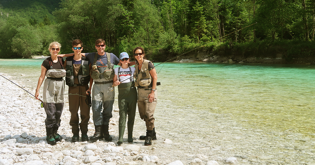 Fly-fishing in Slovenia with Flyfishingodec